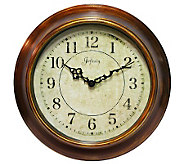 The Keeler Metal Wall Clock by Infinity - H157599