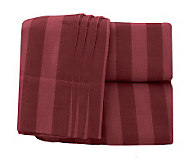 Northern Nights Damask Stripe Full Flannel Sheet Set - H196399