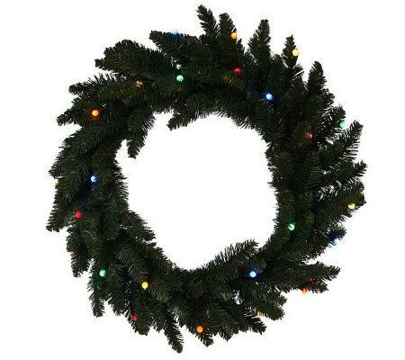 as is bethlehem lights battery operated 22 lit wreath. Black Bedroom Furniture Sets. Home Design Ideas