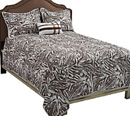 Dennis Basso Dotted Zebra King 4-Piece Coverlet Set - H202399