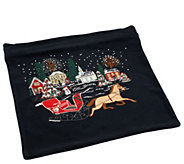 Quacker Factory Holiday 14 X 14 Pillowcase - H203999