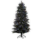 As Is ED On Air Santas Best 6.5 Snow Drift Fraser Tree - H208199