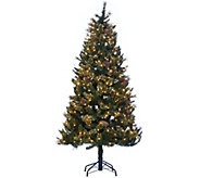 Hallmark 7.5 Fallen Snow Christmas Tree with Quick Set Technology - H208799