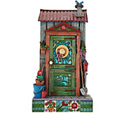 Jim Shore Heartwood Creek Potters Shed Door Scene Figurine - H210799