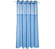 Hookless Swiss Dots Jacquard Shower Curtain - H214199