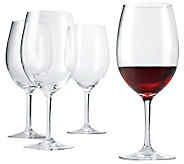 Wine Enthusiast Break-Resistant Cabernet Glasses Set of 4 - H281699