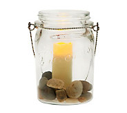 Home Reflections Mason Jar Flameless Votive Candle Holder - H286399
