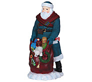 Limited Edition Canadian Santa Figurine by Pipka - H286799