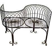Design Toscano Tete-a-Tete Kissing Garden Bench - H293799