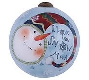 2-1/2 I Love You Snow Much Ornament by NeQwa - H296599
