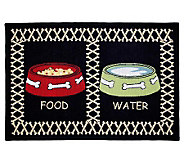 Meal Time 19 x 13 Tapestry Rug - H349299