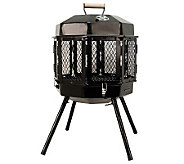 Masterbuilt Grizzly Cub Portable Fireplace & Grill - H366199