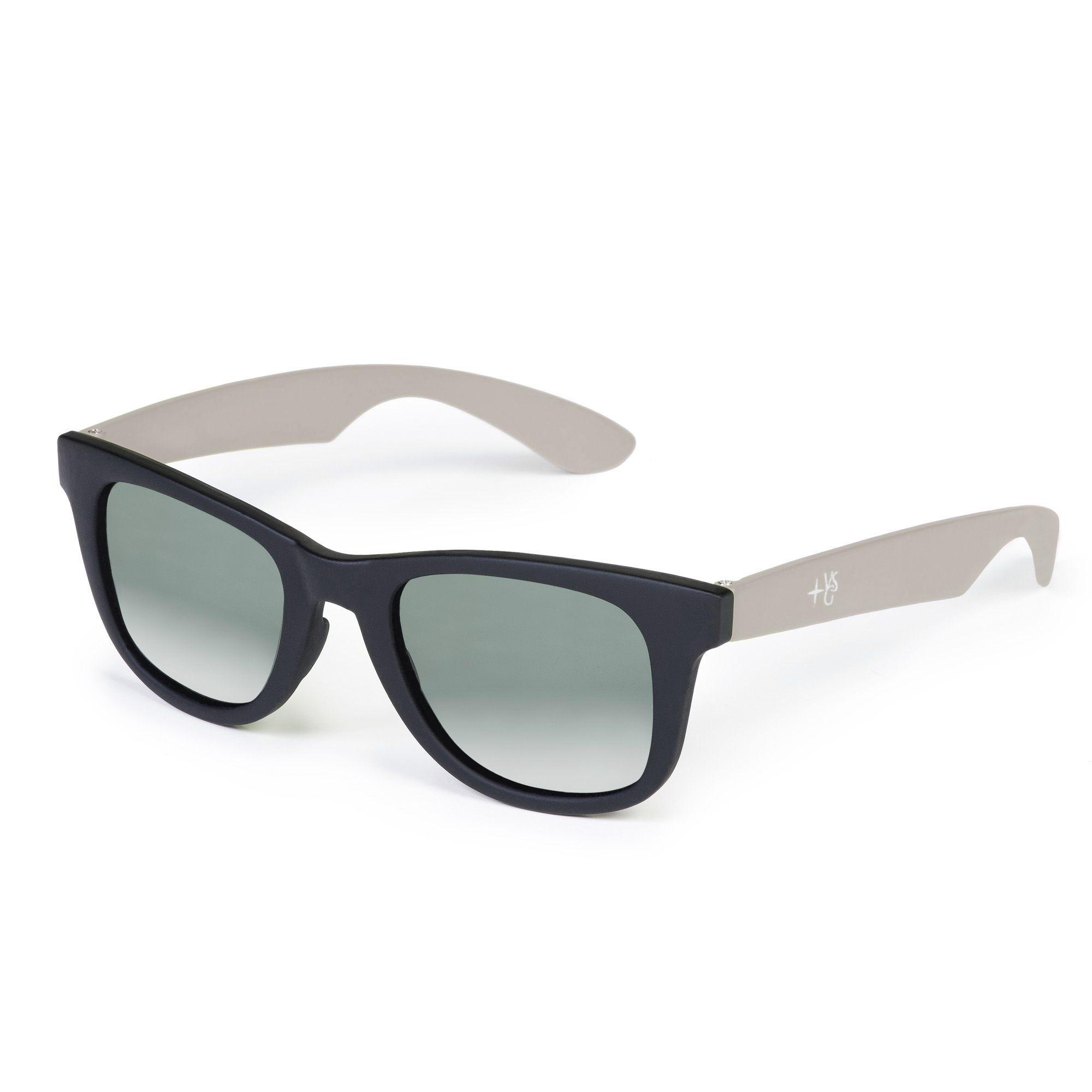 Occhiali da sole con lenti scure e astine colorate qvc italia - Occhiali con lenti a specchio colorate ...