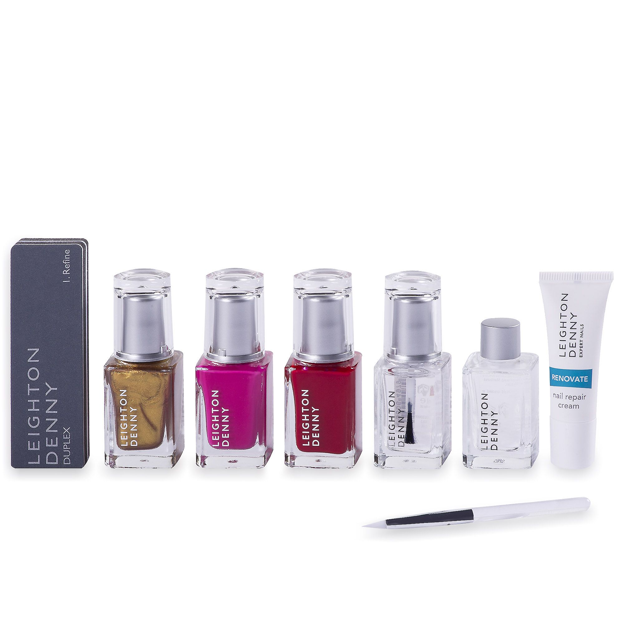 Leighton Denny Party Cocktail kit manicure completa e alla moda (7 pz)