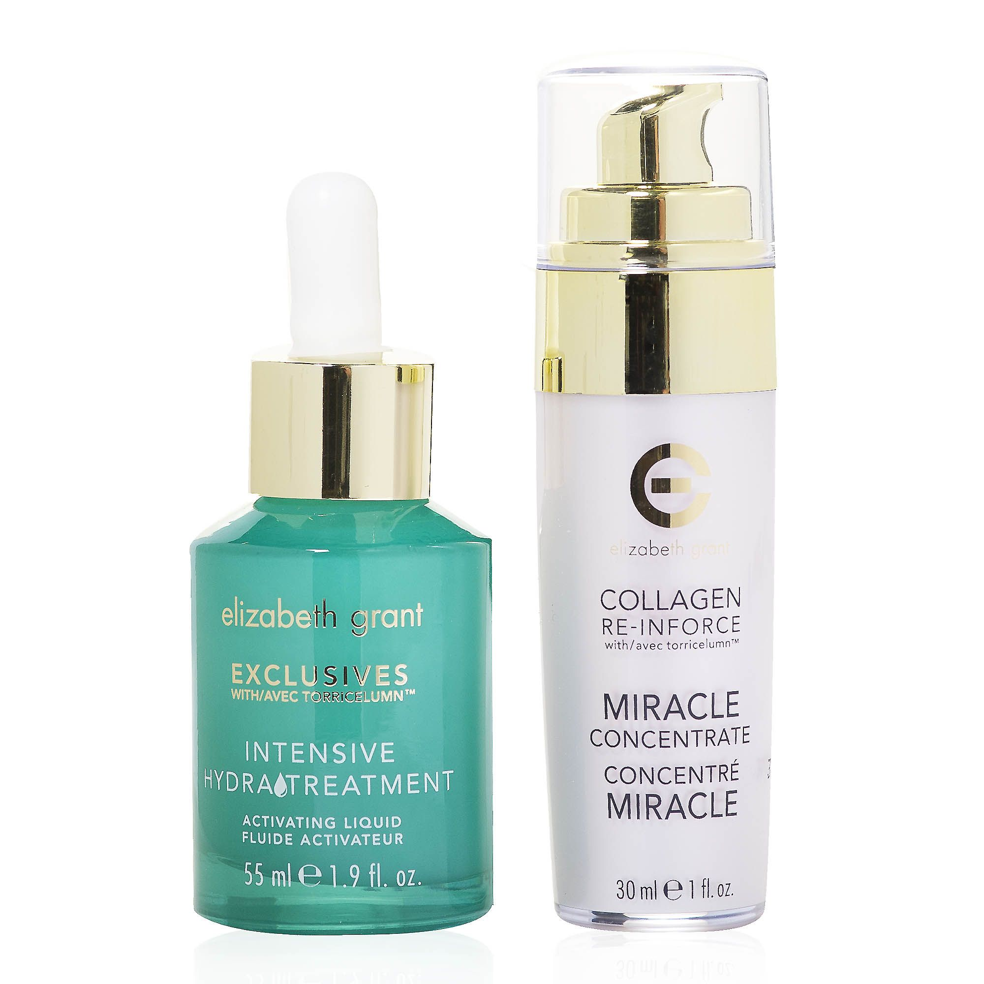 Elizabeth Grant Wonderful Duo hydratreatment siero bifasico e collagen siero
