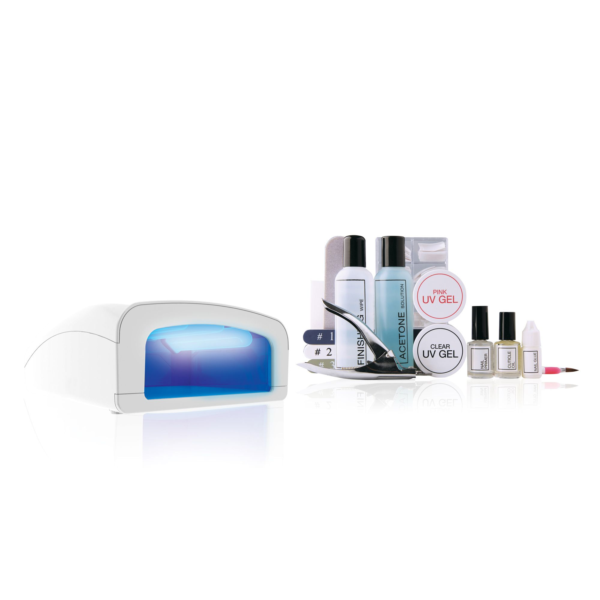 Rio UV Nails Professional: kit ricostruzione unghie in gel naturali e french