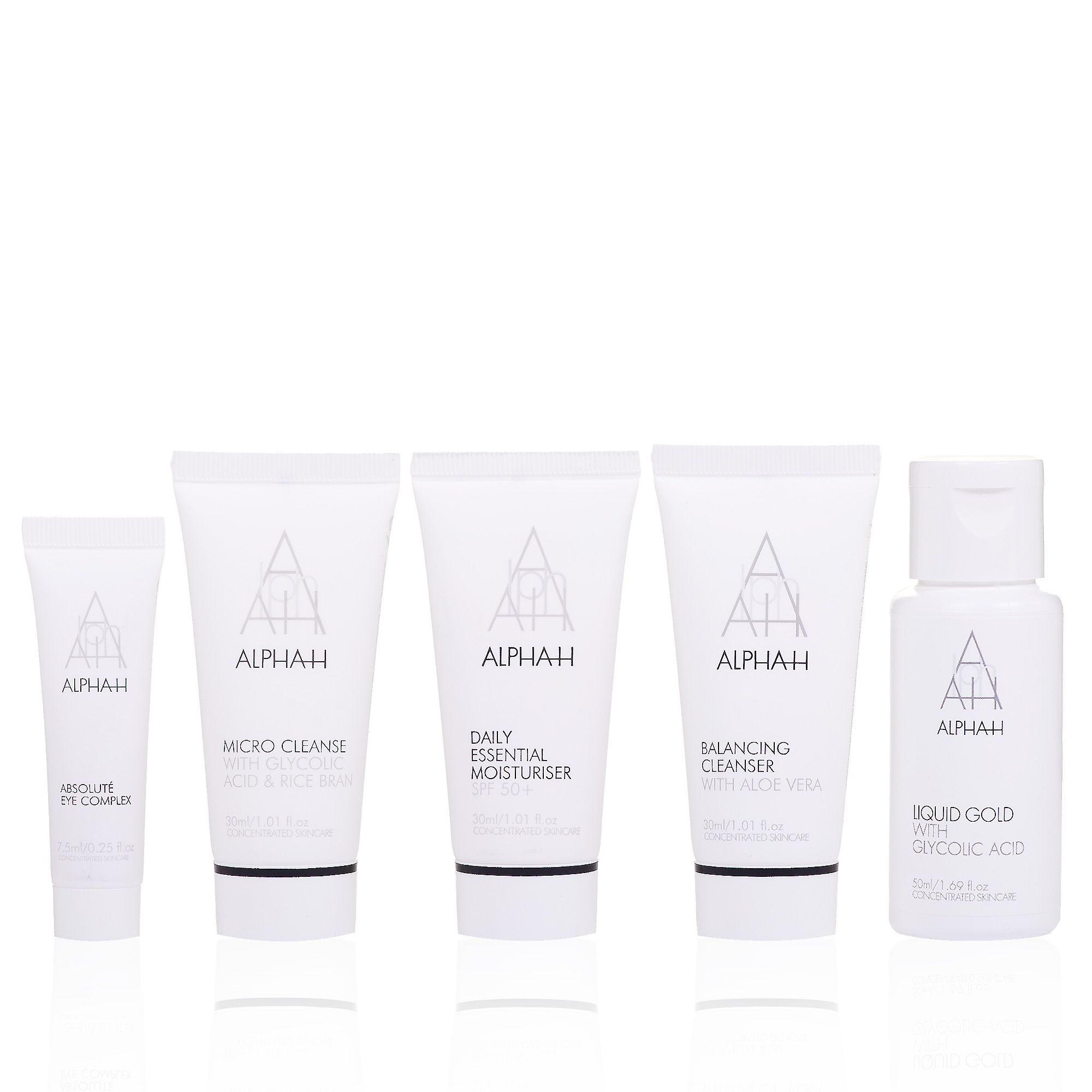 Alpha H Flawless Face Discovery Collection: kit viso e occhi (5 pz)