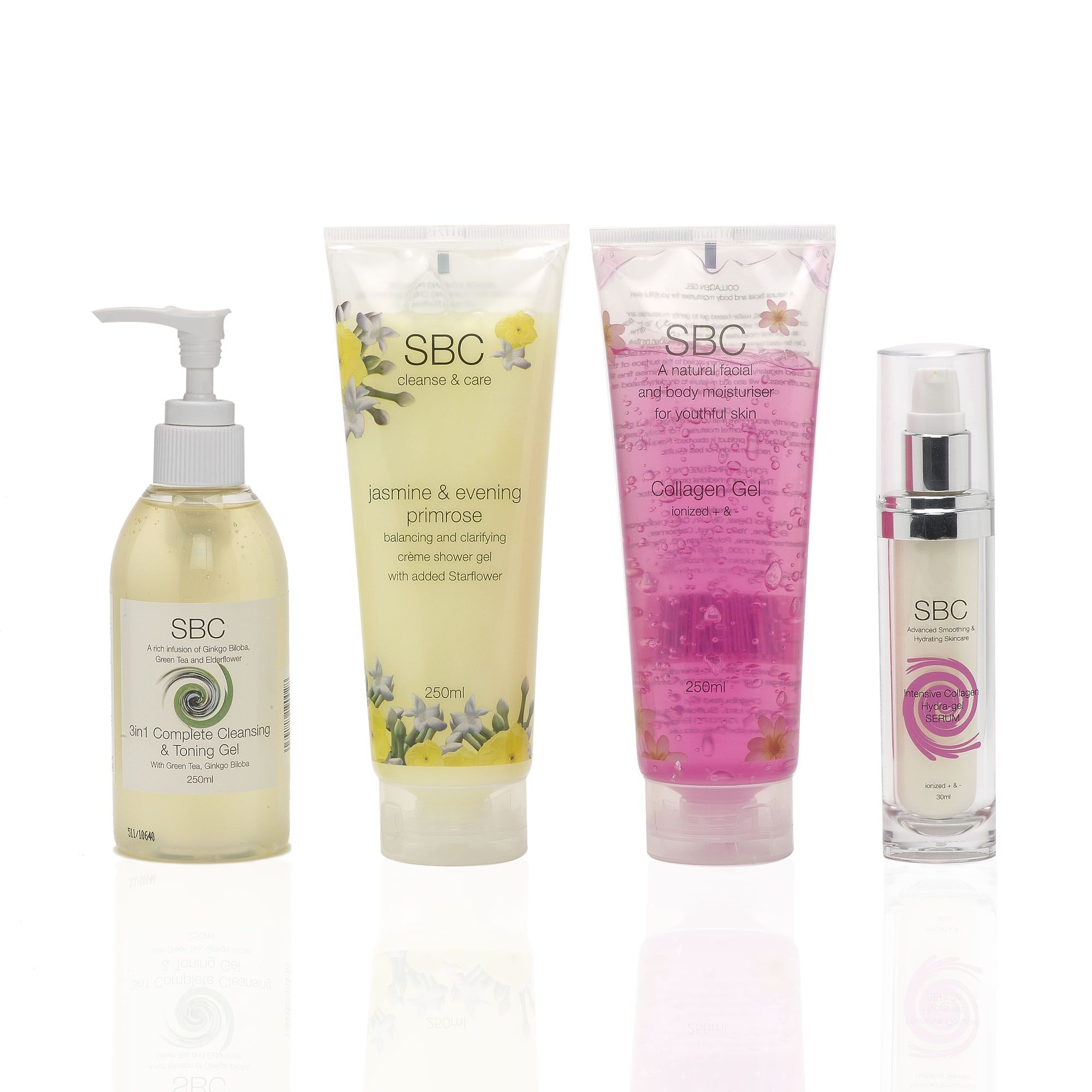 SBC Hydrating&Nourishing Collection kit viso e corpo (4 pz)