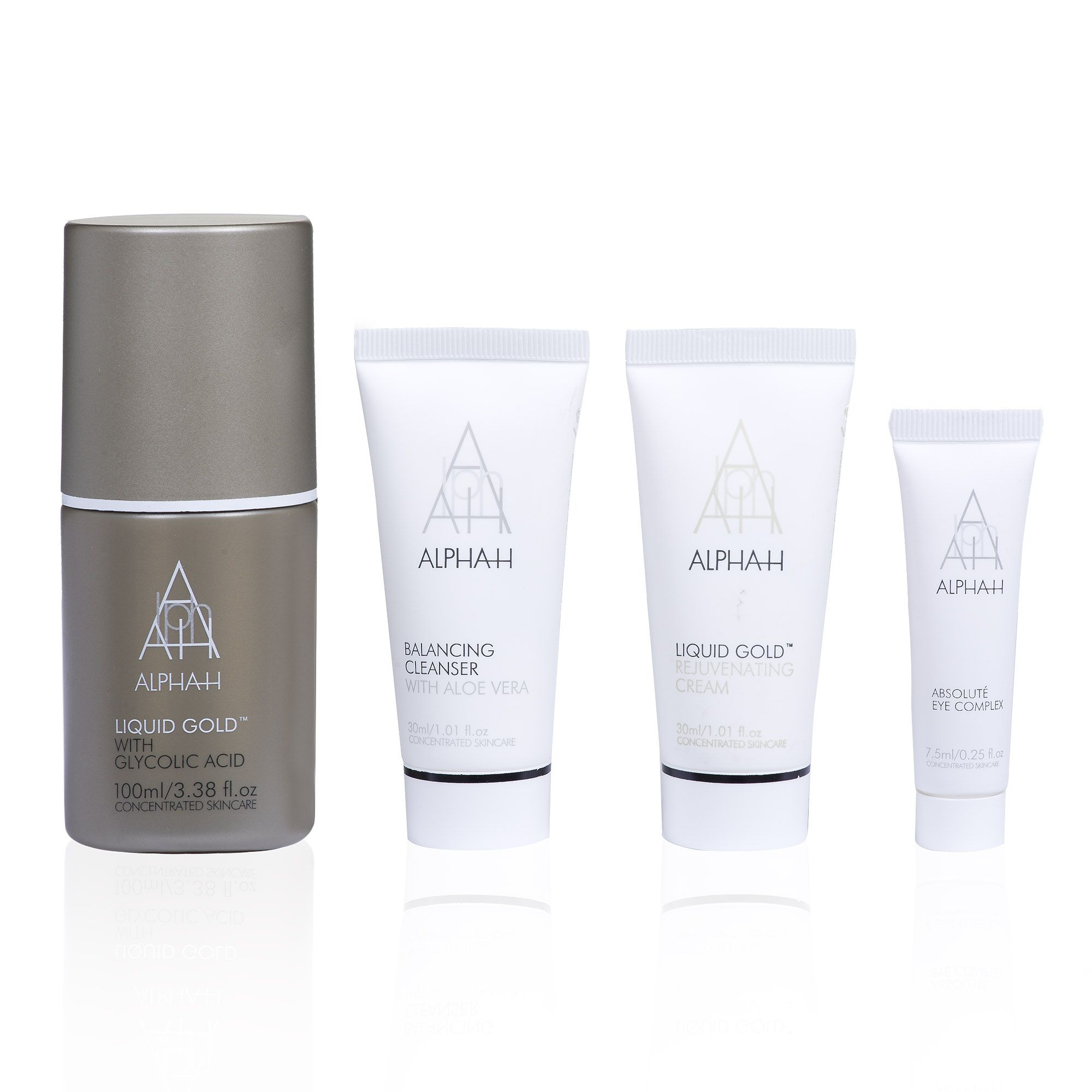 Alpha H 24 Hour Essential Beauty Collection: kit trattamento cosmetico viso-occhi (4 pz)