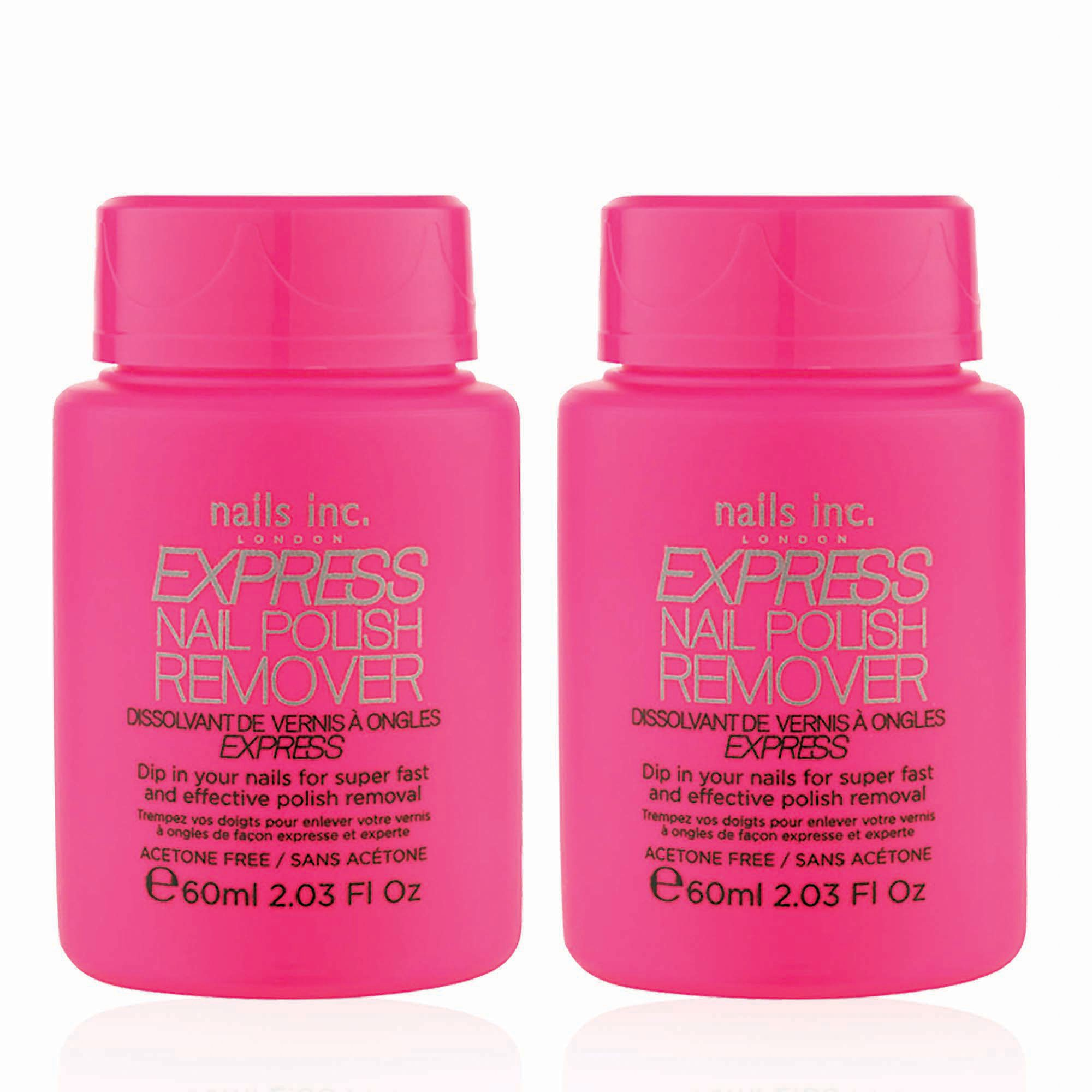 express nail polish remover solvente per unghie 2 pz qvc italia. Black Bedroom Furniture Sets. Home Design Ideas