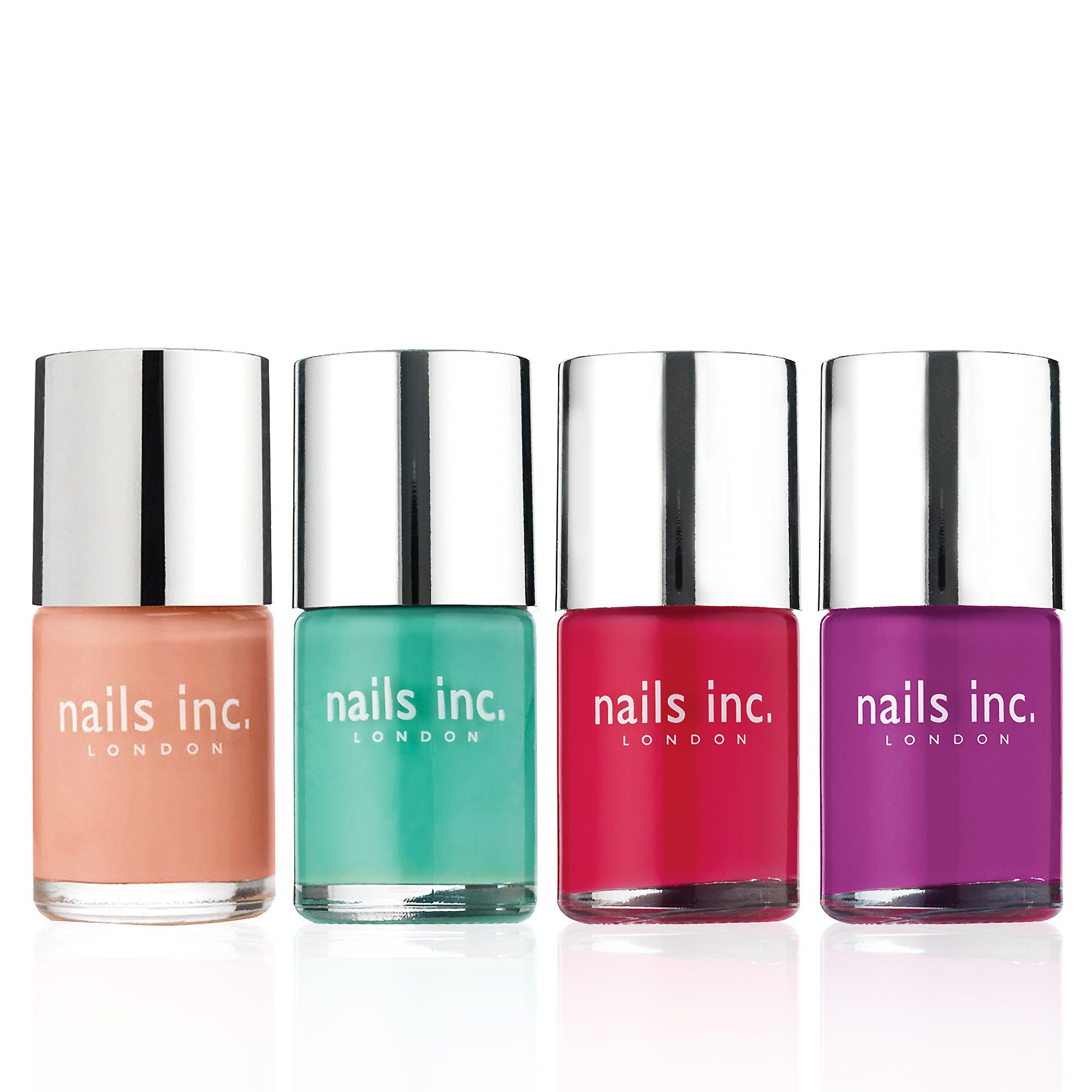 Nails inc. Pastels Collection kit smalti golosità macaron