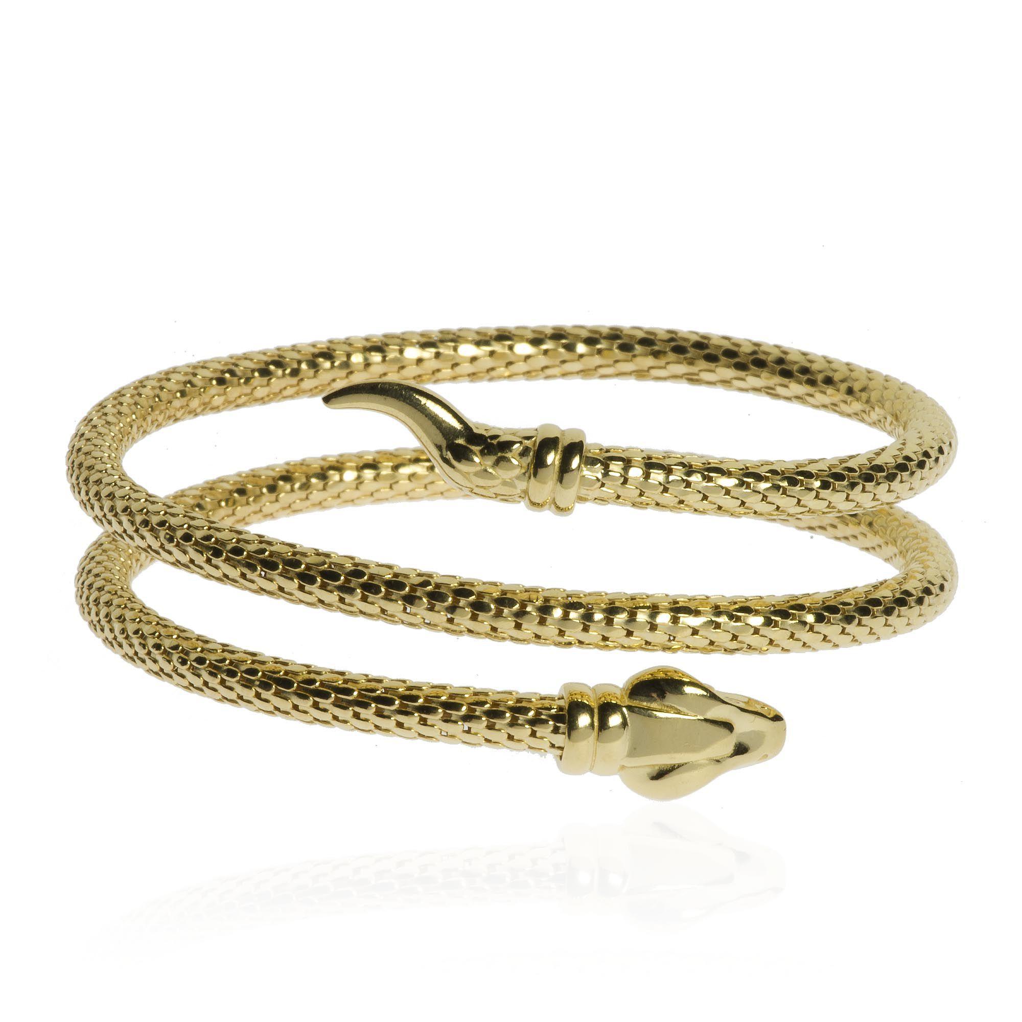 Bracciale d 39 argento a forma di serpente con occhio rosso - Serpente collegare i punti ...