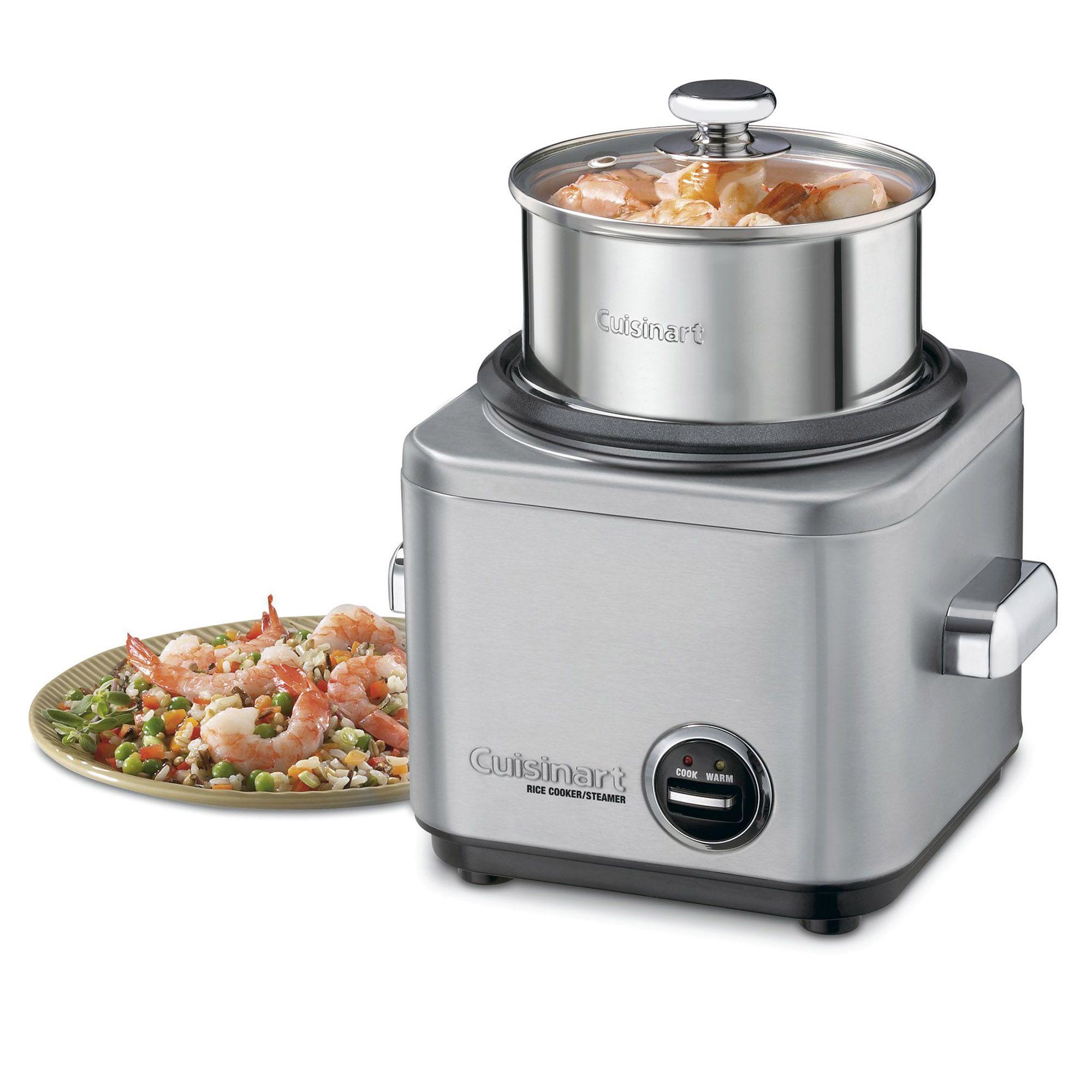 Cuociriso e cereali in acciaio inox per cottura a vapore - Cuisinart italia ...