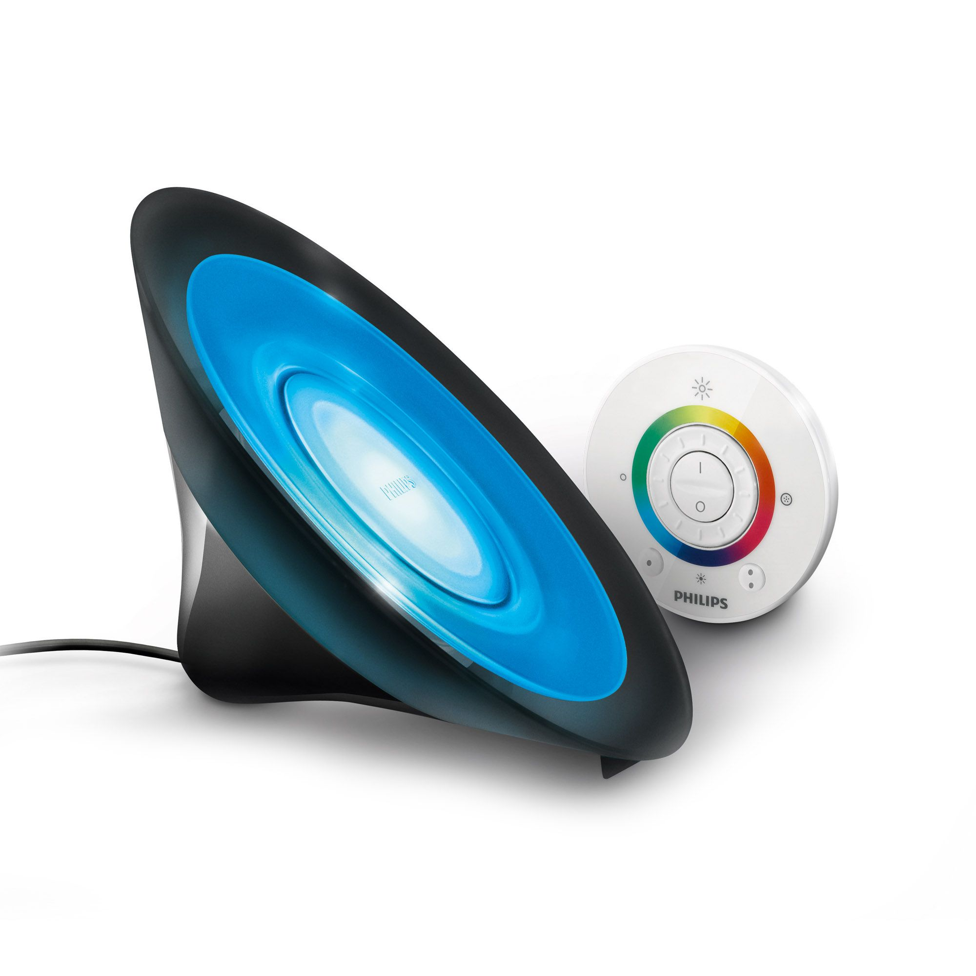 Livingcolors aura lampada led con telecomando qvc italia for Philips telecomando