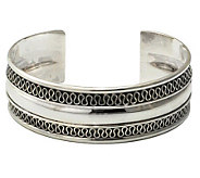 Novica Artisan Crafted Sterling Captivated CuffBracelet - J109400