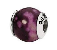 Prerogatives Sterling Purple Magnesite GemstoneBead - J298300