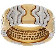 14K Gold Two-Tone Status Design Ring - J319700
