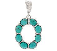 Judith Ripka Sterling Turquoise Enhancer - J320500