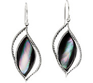 Sterling Silver Mother of Pearl Dangle Earrings by Or Paz - J335600