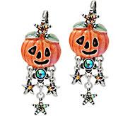 Kirks Folly Spellbinder Pumpkin Earrings - J351500