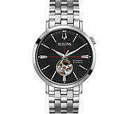 Bulova Mens Stainless Classic Automatic Watch - J378500