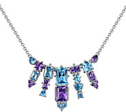 Judith Ripka Sterling 6.50 cttw Gemstone Necklace - J383700