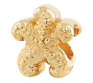 Prerogatives 14K Yellow Gold-Plated Sterling Starfish Bead - J302701