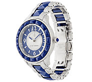 Judith Ripka Stainless Steel Two-tone Ceramic Watch with Diamonique - J318701