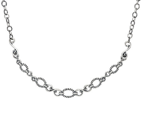 Carolyn Pollack Sterling Silver Signature Status Design