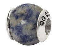 Prerogatives Sterling Sodalite Gemstone Bead - J298302