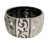 Iris Design Artisan Crafted Sophisticated VinesBangle - J312002