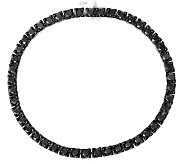 Black Diamond Tennis Bracelet, Sterling, 4.50ctby Affinity - J314802
