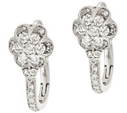 Michael Beaudry 3/4 cttw Diamond Flower Drop Earrings, 14K Gold - J317602