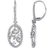 Diamond Vintage-Style Earrings, 14K, 1 cttw, byAffinity - J376602