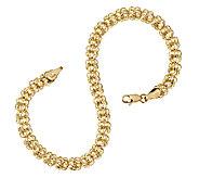As Is 14K Gold 7-1/2 Polished Love Knot Bracelet, 2.1g - J285203