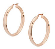 Stainless Steel Hoop Earrings - J286503