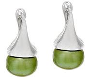 Honora Cultured Pearl 9.5mm Sterling Drop Earrings - J296003
