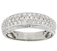 Micro-Pave Diamond Band Ring, 14K, 6/10 cttw, by Affinity - J318503