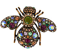 Joan Rivers Prismatic Crystal Bee Pin - J321603