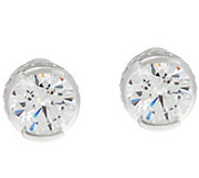 TOVA Diamonique 8.40 cttw Stud Earrings, Sterling - J330803